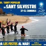 El Cambrils CN organitza la III Sant Silvestre popular Aquàtica