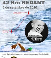 Repte Solidari: 42km nedant en benefici de la campanya #PelsValents